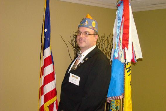 Vice Commander Gerald Mott