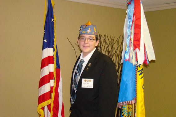 Sergeant-at-Arms Dylan Mott