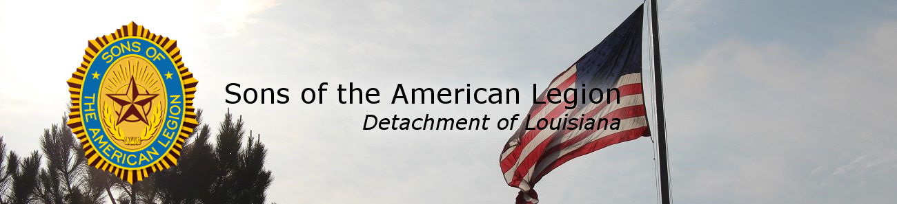The Sons of the American Legion, Detachment of Louisiana